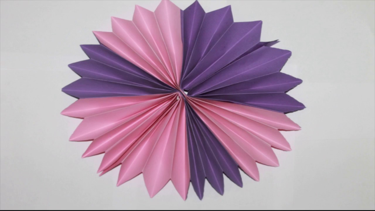 Paper how to make paper rosette flower how to make paper rosette paper how to make paper rosette flower how to make paper rosette flower diy paper craft idea mightylinksfo