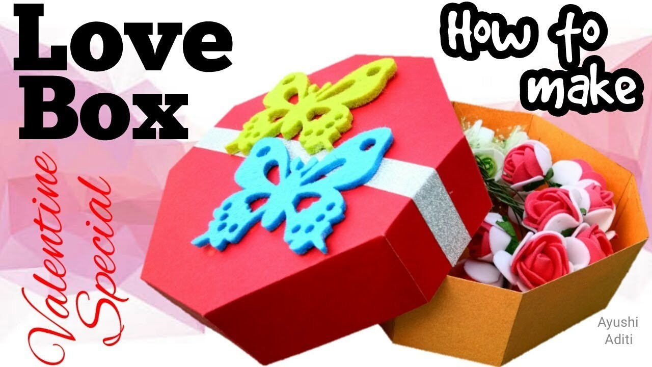 Love Box for Him.Her | I Love You Box | Valentine's Day |