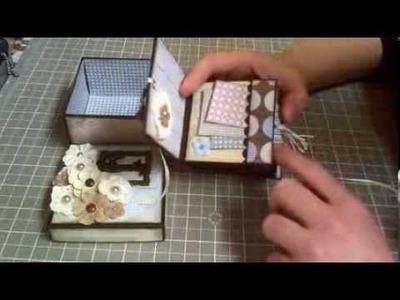 Mini book in a box!