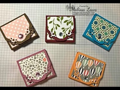 Mini Square Post It Note Book Stampin Up
