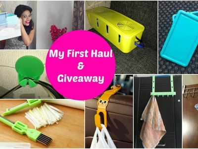 My First Haul!! + Giveaway!! (close) | Club Factory Shopping | Organizopedia