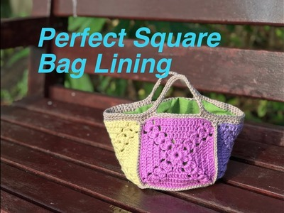 Ophelia Talks about the Lining for the Perfect Square Bag