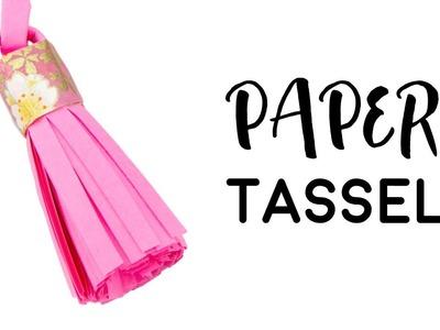 Paper Tassel Tutorial ♥︎ DIY ♥︎ Paper Kawaii