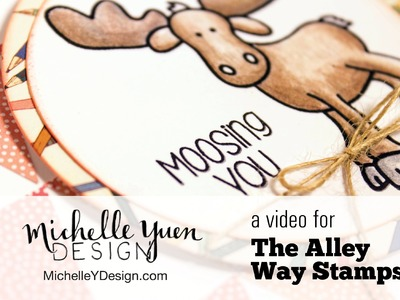 Patchwork Background Cardmaking Tutorial with The Alley Way Stamps