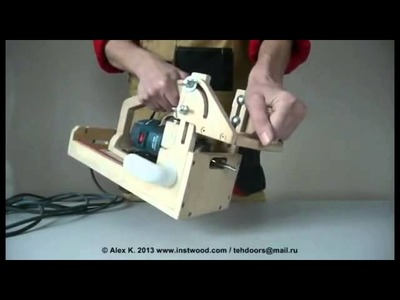 Portable Mortising Router   part 1