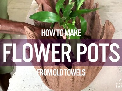 Six Senses Earth Lab |  How To Make Flower Pots From Towels with Six Senses Laamu