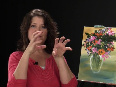 Step By Step - Acrylic Painting with Christine MacShane - Bouquet