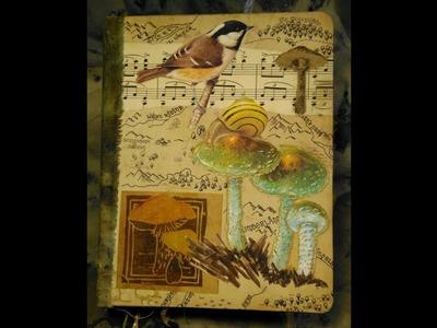 Tolkien Inspired Mushroom Journal part 1