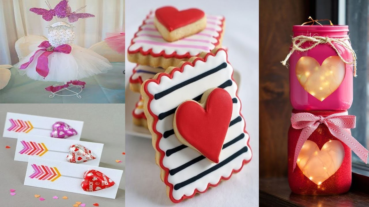 14 DIY Valentine's Day Gifts and Room Decor Ideas 2018