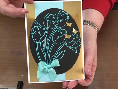 "#234 Three ""Out of the Box"" Techniques for Embossing by Scrapbooking Made Simple"