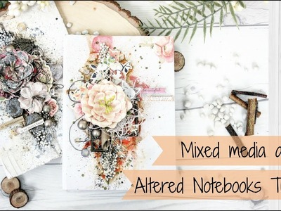 Altered Mixed Media Notebooks | Tutorial | How to do | Easy | Aola DIY