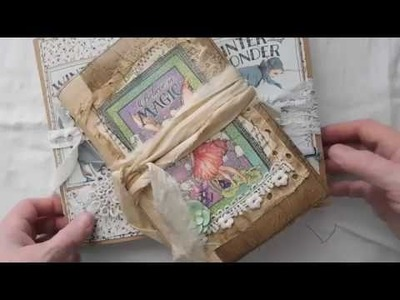Authentique Winter Wonder Journals Believe In Magic Fairy Journal - Part 2 **SOLD OUT**