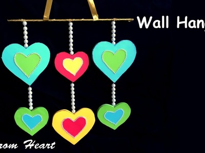 Best DIY Craft from Paper and Cardboard | Wall Hanging Decor for Valentine Day