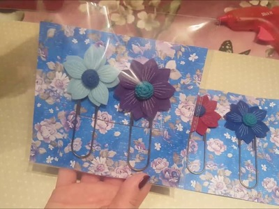 Craft fair idea - oversized Paperclips - Planner- gift