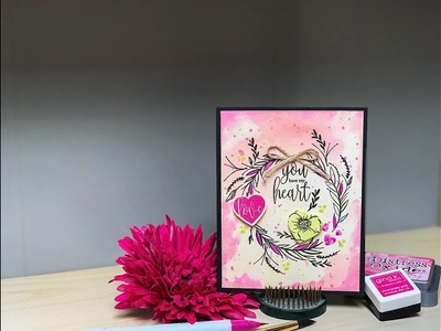 Craft Your Joy Card Tutorial: Single Layer Card Design: You Have My Heart