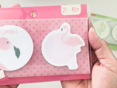 Daiso Kawaii Haul   Stationery and Paper Craft Items 020618