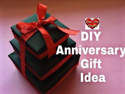 DIY - Anniversary Gift Idea | Valentine's Day. Anniversary Card