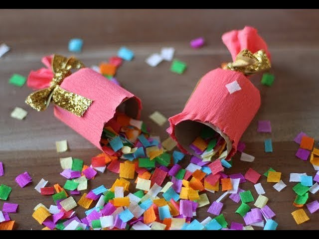 how to use confetti party popper