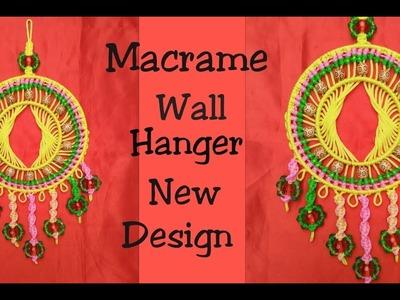 DIY Macrame New Design Wall hanger tutorial in hindi