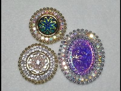 DIY~Make Gorgeous, Easy & Inexpensive Craft Embellishments!