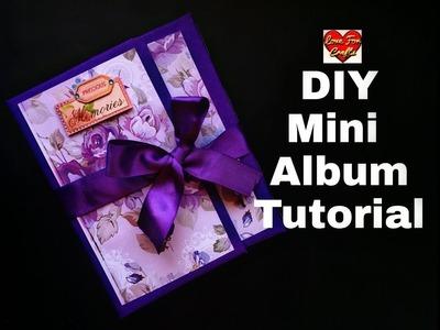 DIY - Mini Album | Mini Album Tutorial | How to Make