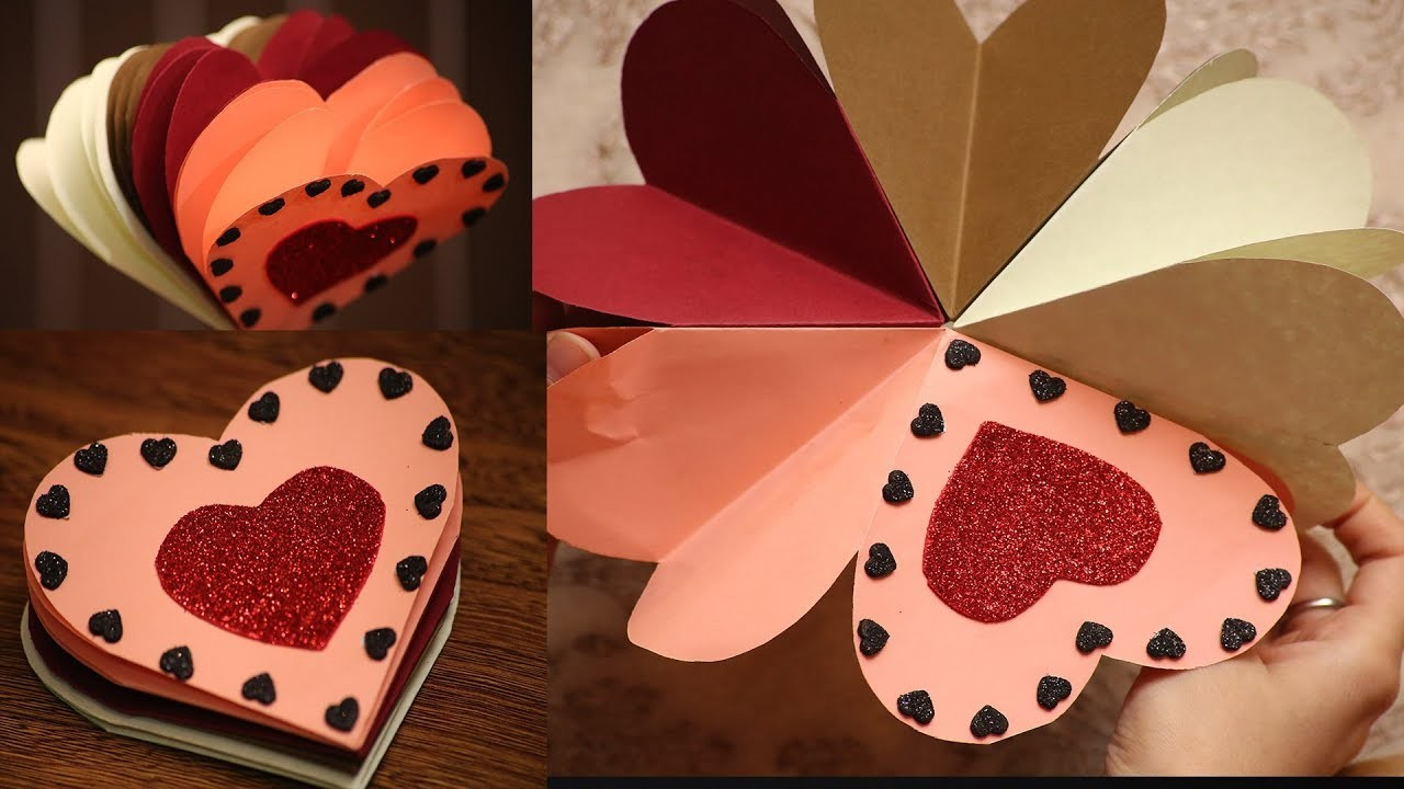 DIY Mini Scrapbook Tutorial | Valentines Day. Birthday.Anniversary Scrapbook Idea