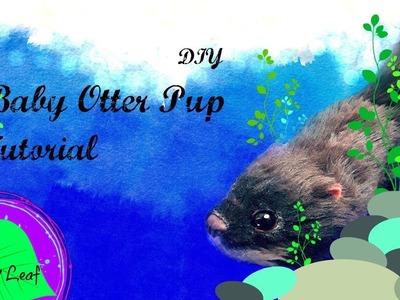 DIY Otter Pup Art Doll Tutorial