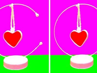 DIY Paper Heart Showpiece | VALENTINES DAY CRAFT IDEAS | EMMA DIY #29