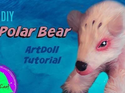 DIY Pink Polar Bear ArtDoll Tutorial