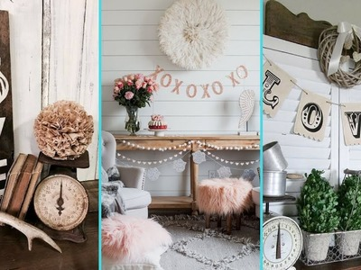 ❤ DIY Rustic Shabby chic style Valentine Home decor Ideas❤ | Home decor Ideas | Flamingo Mango|