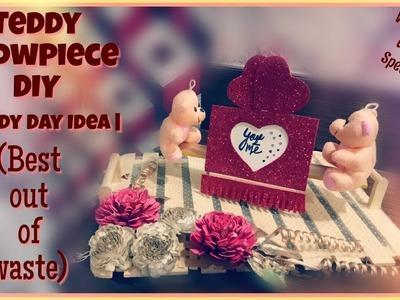 DIY Teddy Showpiece | Teddy Day Idea | Valentine's Week | Valentine's Day | Best Out of Waste