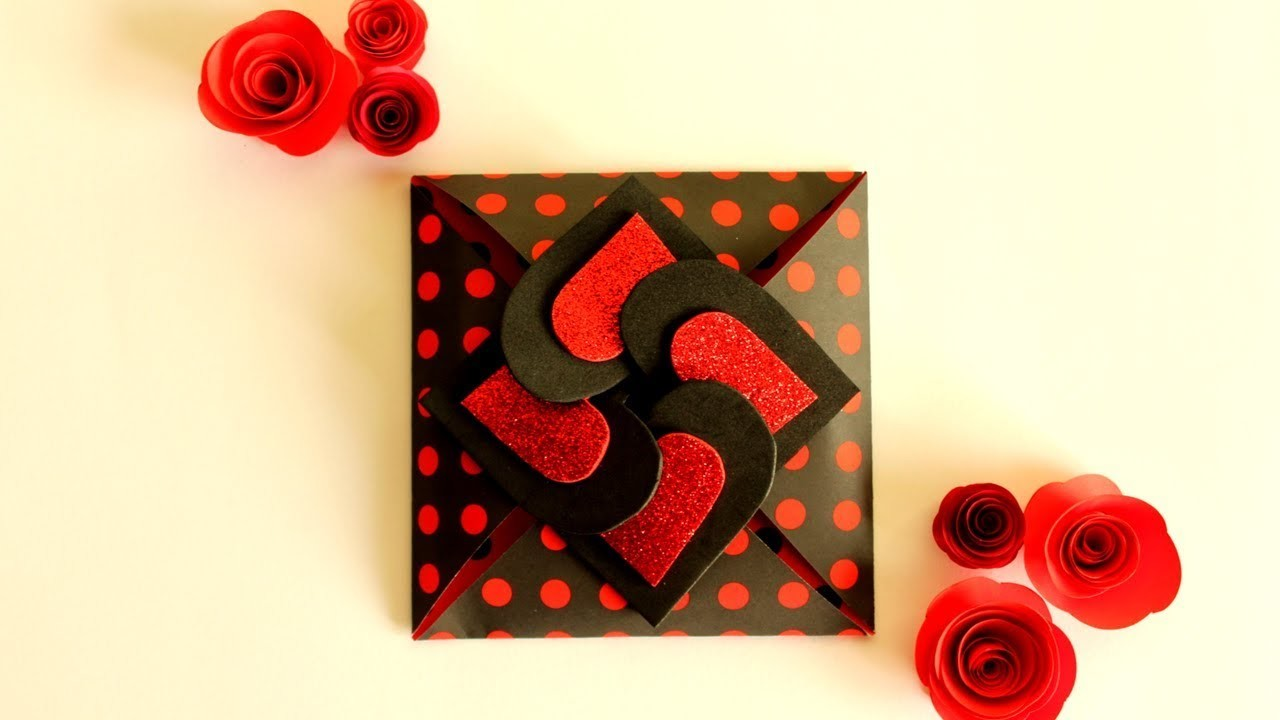 DIY Valentine Card | | How To Make A Valentine's Day Card | Simple And Beautiful DIY Card