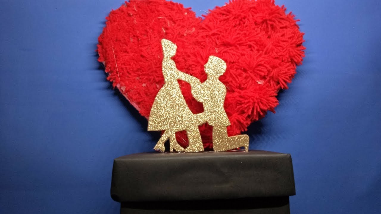 DIY Valentine's - Anniversary Best Gift Idea Step By Step   The perfect Valentine's Day gift