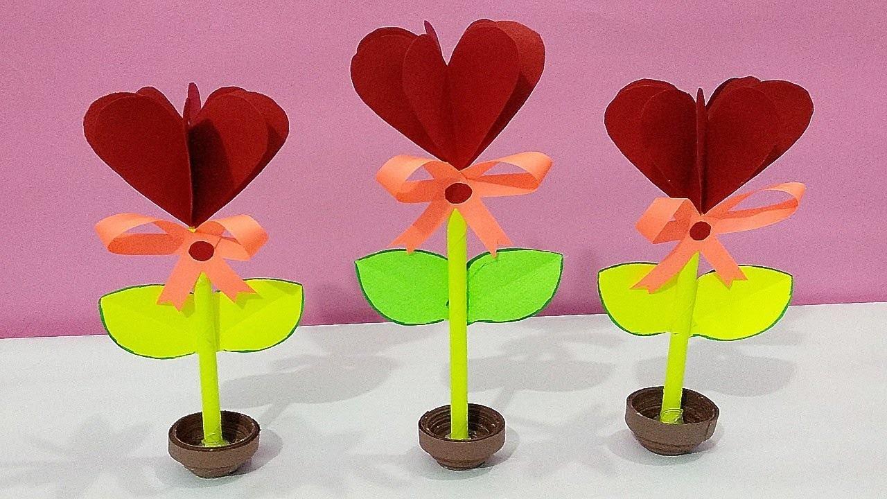 DIY Valentine's day craft-Decoration Ideas-Paper Craft