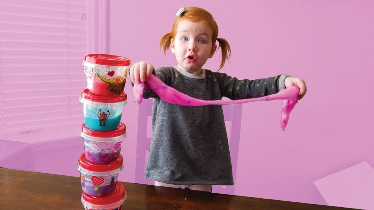 DIY Valentine's Day Slime!!