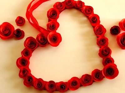 DIY Wall Decor Valentine's Day Ideas.DIY Valentines Heart Hanging Decor