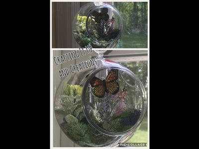 Dollar Tree DIY Terrarium featuring special artist Alison Merritt - Butterfly ???? Beauty