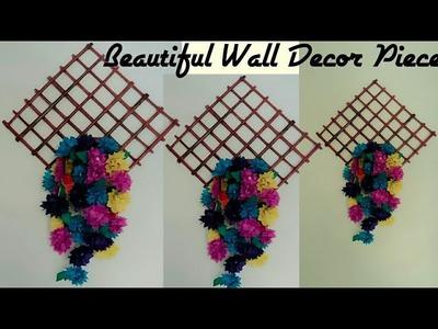 Elegant  Wall Piece Using Newspaper.Waste Material Craft