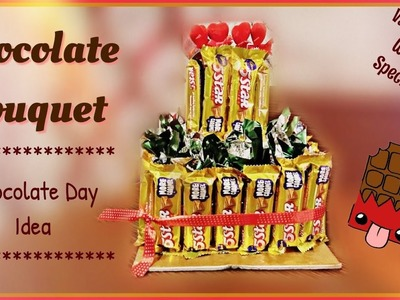 How to Make A Chocolate Bouquet | Chocolate Day Idea | Valentine's Week | Valentines Day