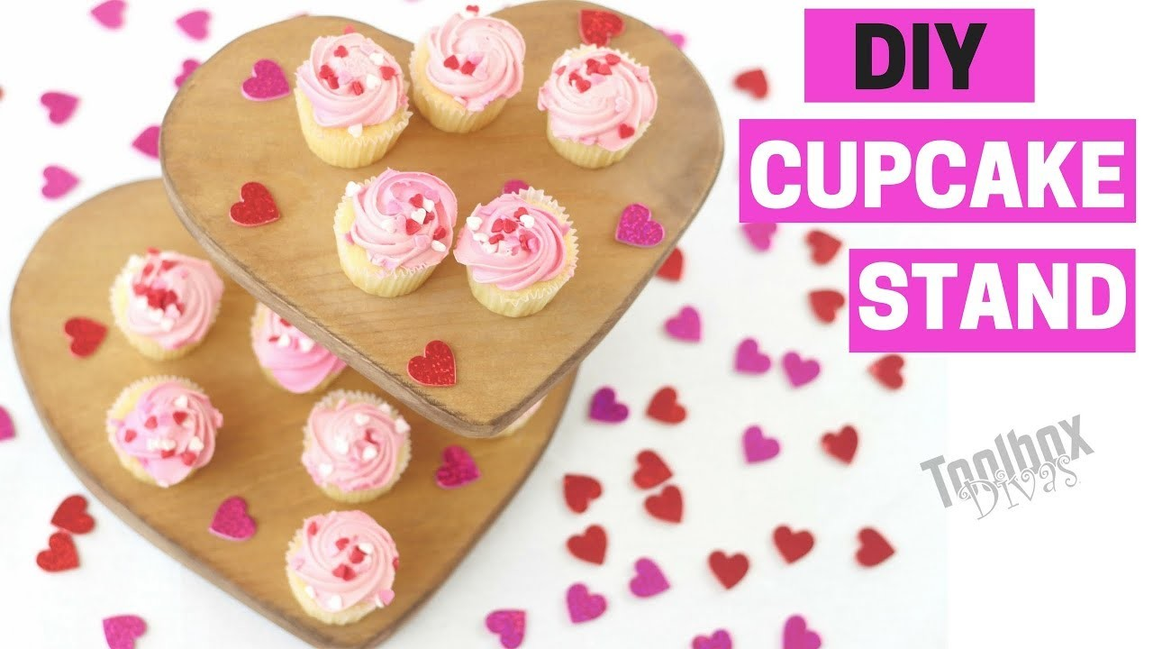How to make a DIY Wooden Cupcake Stand (2018)
