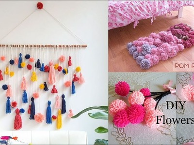 How To Make  A Pom Pom | Top 10 Pom Pom Craft Ideas | home decor ideas | valentines home decor ideas