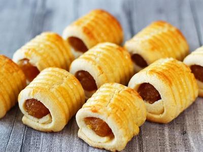 How to Make Pineapple Tart Cookies (Biskut Tart Nenas)   El Mundo Eats recipe #35