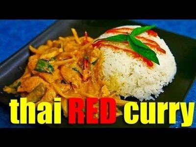 How to make Thai Red Curry (Kaeng Phet Daeng Kai)