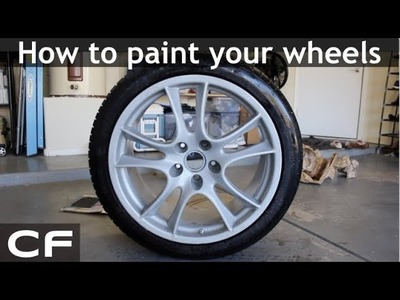 How to Spray Paint Your Wheels - DIY Tutorial