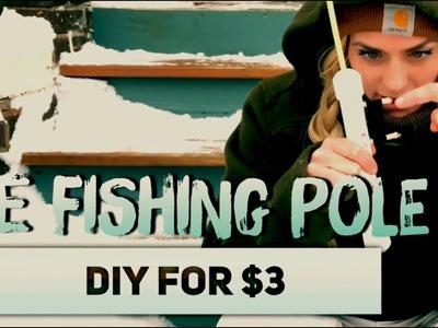 Ice Fishing Pole DIY for $3