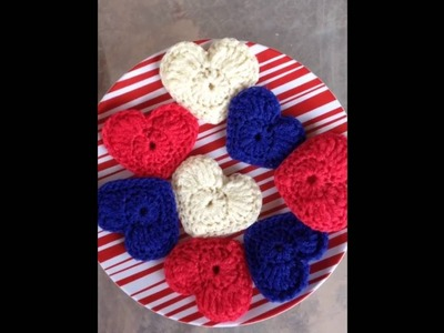 Introducing patriotic heart dish scrubbies!!!!