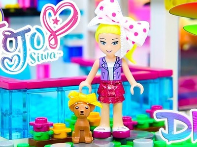 Jojo Siwa & BowBow Custom Lego Minidoll Puppy DIY Craft Repaint
