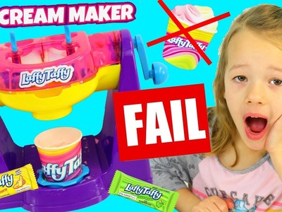 Laffy Taffy Ice Cream Maker Toy Review & DIY Recipe Fail