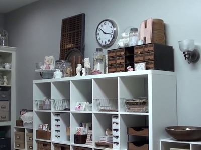 New Craft Room and  tour 2018