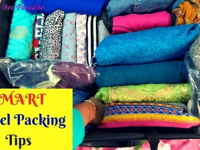 Practical Travel Packing tips- How to pack for a family in Suitcase - no special travel organizers